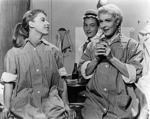 So-close-to-life-1958-001-three-women-in-same-robes-bfi-00m-f8o
